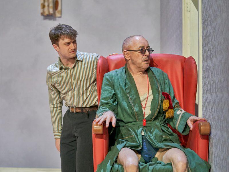 Daniel Radcliffe and Alan Cumming in Endgame