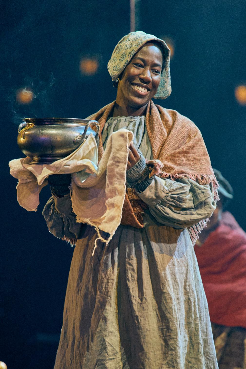 Maria Omakinwa in A Christmas Carol