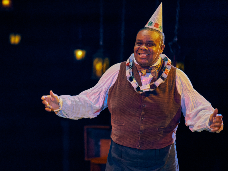 Clive Rowe in A Christmas Carol