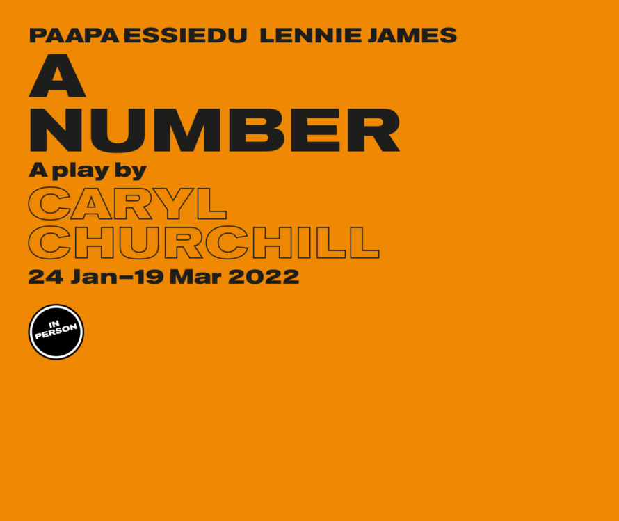 A Number in person lead artwork