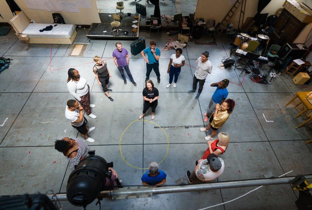 Bagdad Cafe rehearsals